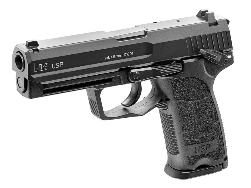 HK USP Blowback Air Pistol 177 Caliber BB Black