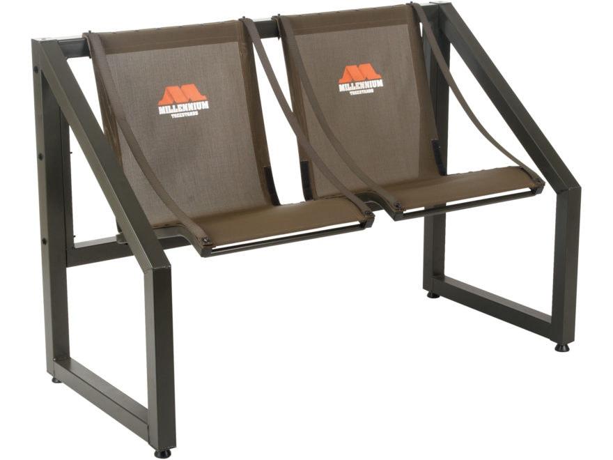 Millennium B2X2 2-Person Steel Bench
