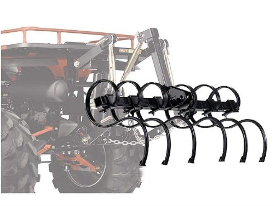 "Kolpin DirtWorks ATV Cultivator Set for 48"" Tool Bar Steel Black"