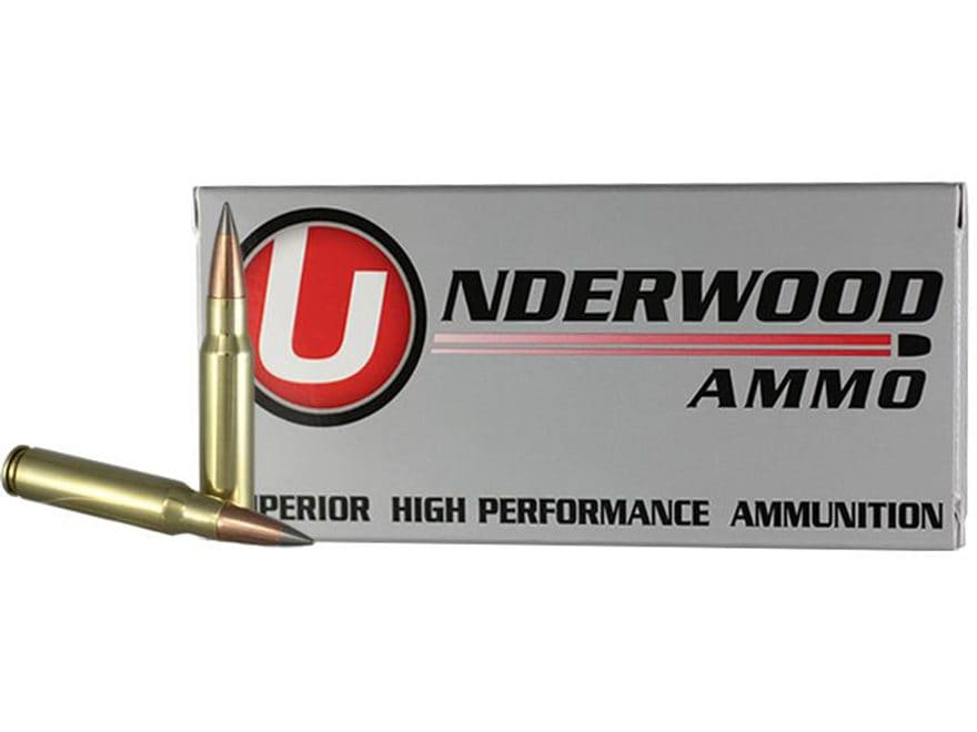 Underwood Ammunition 308 Winchester 144 Grain Lehigh Match Grade Solid Flash Tip Lead-F...