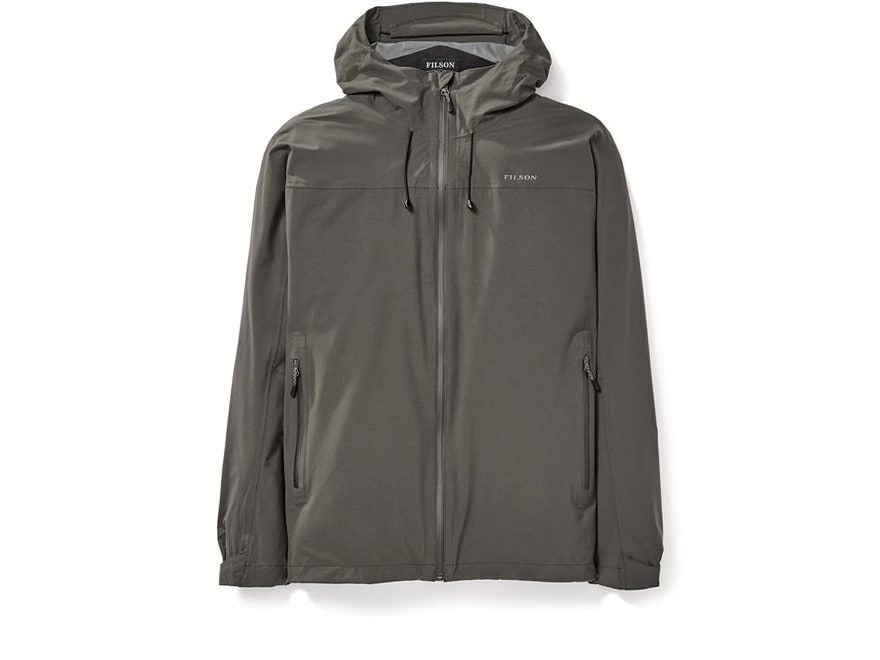 Filson Men's Swiftwater Waterproof Packable Rainshell Jacket Nylon