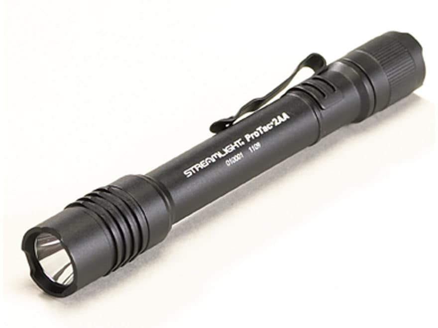 Streamlight ProTac 2AA Flashlight LED with 2 AA Batteries Aluminum