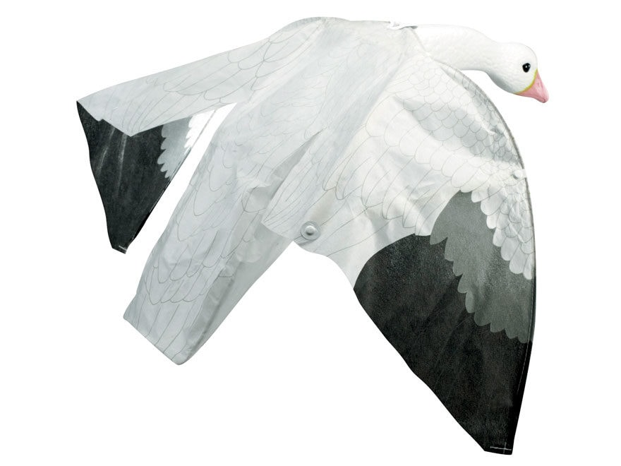 Lucky Duck Snow Goose Magnet Motion Decoy