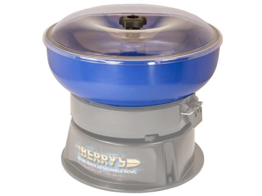 Berry's Replacement Bowl and Lid Assembly QD-500 Vibratory Tumbler 120V