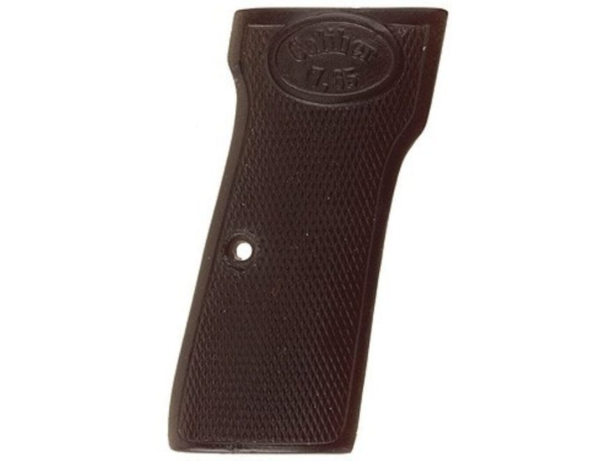 Vintage Gun Grips Walther #4 Early-Style 32 ACP Polymer Black