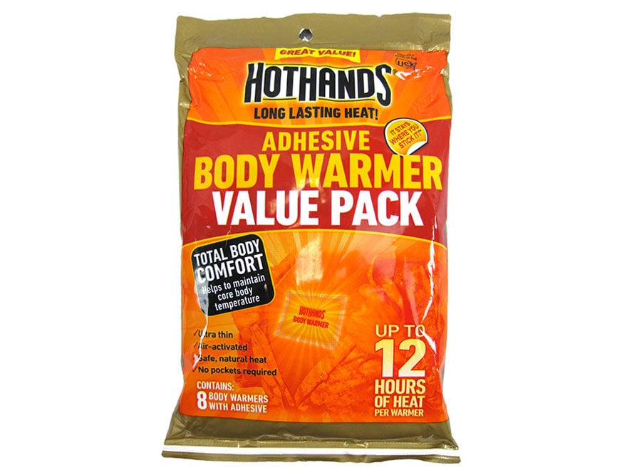 HotHands Adhesive Body Warmer Pack of 8