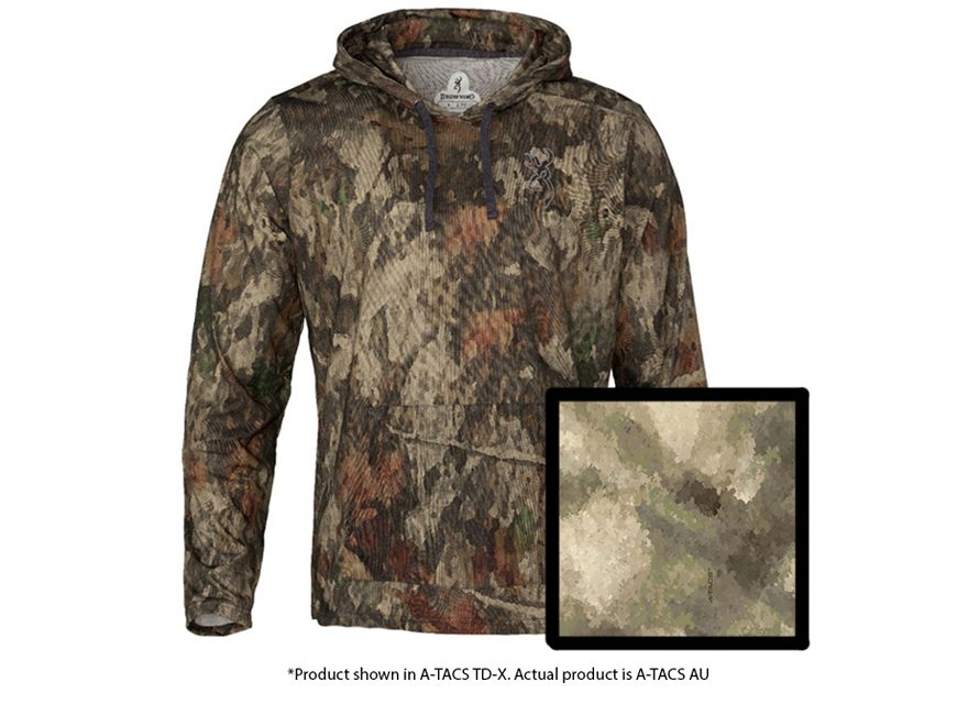 4db215e9d Browning Men's Hell's Canyon Speed Hipster-VS Hoodie Polyester A-TACS