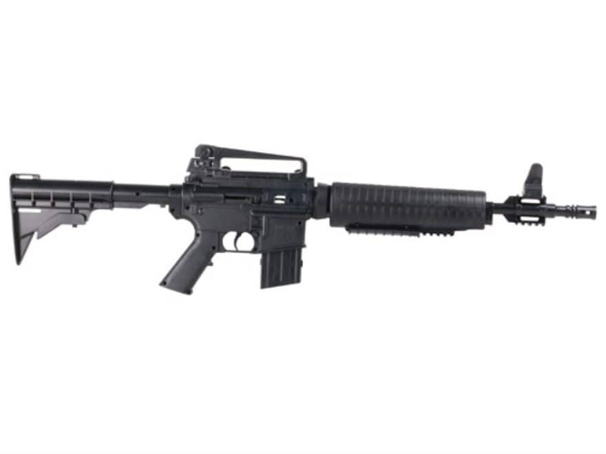 Crosman M4-177 Air Rifle Kit 177 Caliber BB and Pellet Black