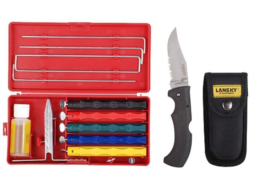 Lansky Deluxe Knife Sharpening System Easy Grip Mpn Lkclx 030