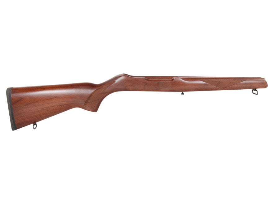 Ruger Rifle Stock Assembly Complete Walnut Ruger 10/22 Deluxe Sporter