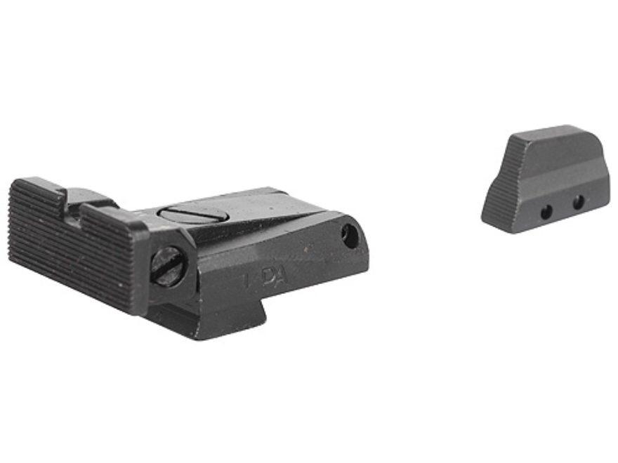 LPA SPR Target Sight Set Beretta 92, 96, 98 M9 Steel Blue