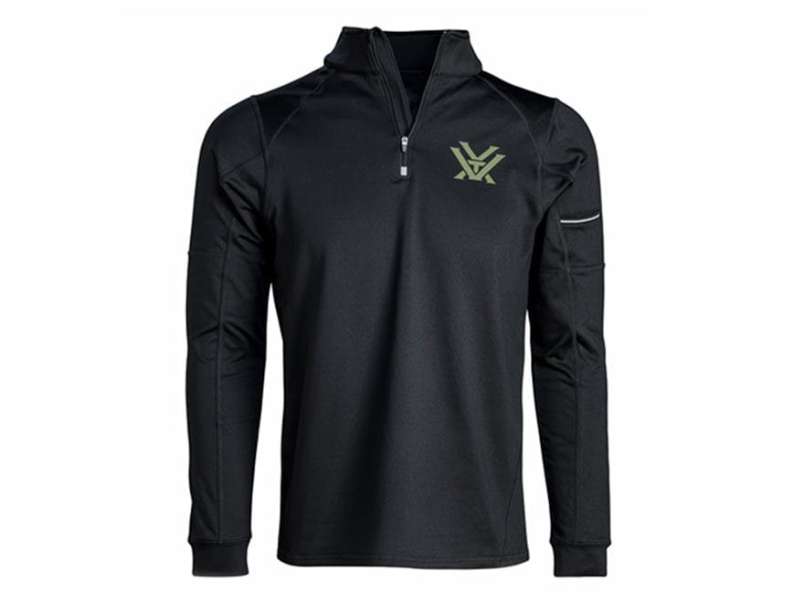 Vortex Optics Men's Performance 1/4 Zip Shirt Long Sleeve Polyester