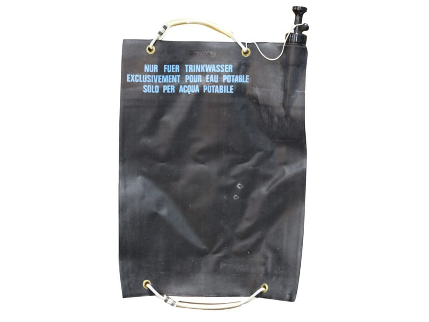 Military Surplus Swiss 20L Water Bag Grade 1 Black
