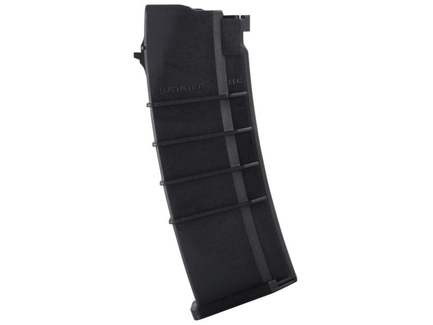 SGM Tactical Magazine Saiga 223 Remington, 5.56x45mm Polymer Black