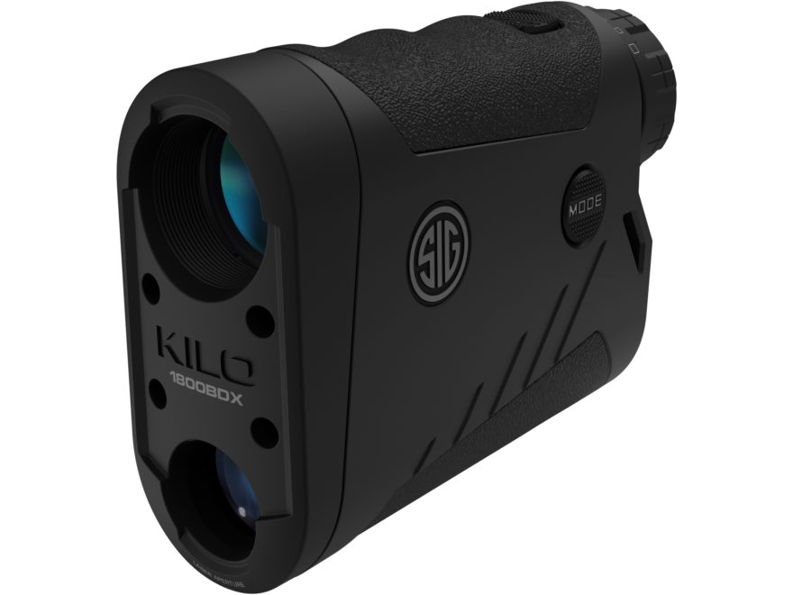 Sig Sauer KILO1800BDX Ballistic Data Xchange Laser Range Finder 6x 22mm Black