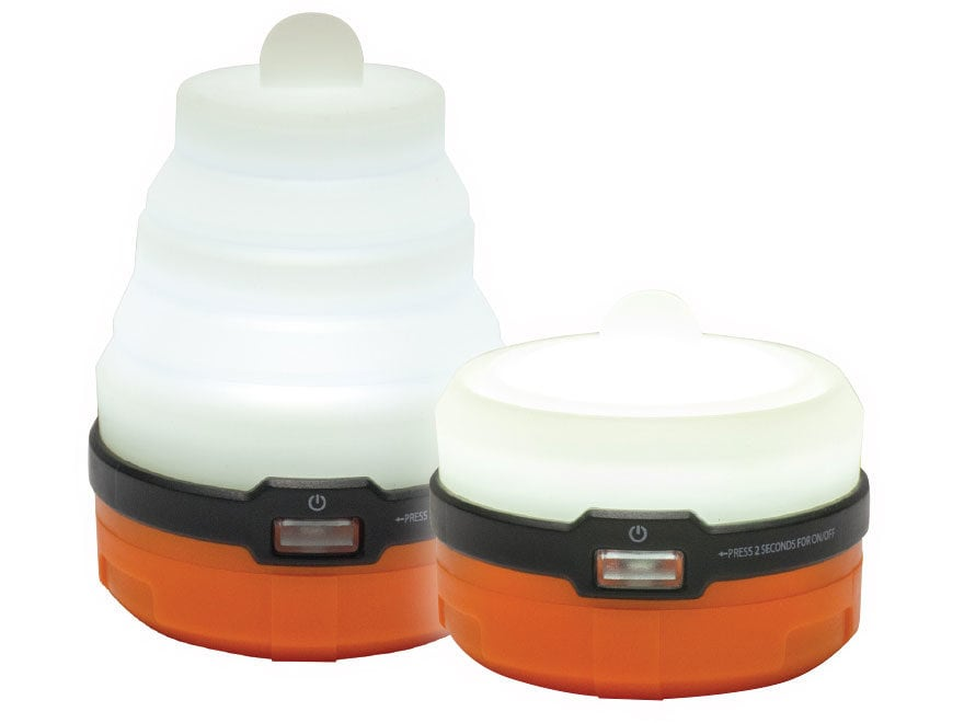 UST Spright 3 AAA LED Lantern Requires 3 AAA Batteries ABS Plastic Orange Package of 2
