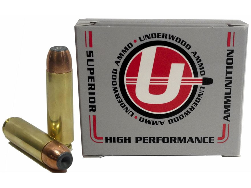 Underwood Ammunition 50 Beowulf 325 Grain Bonded Jacketed Hollow Point Box of 20