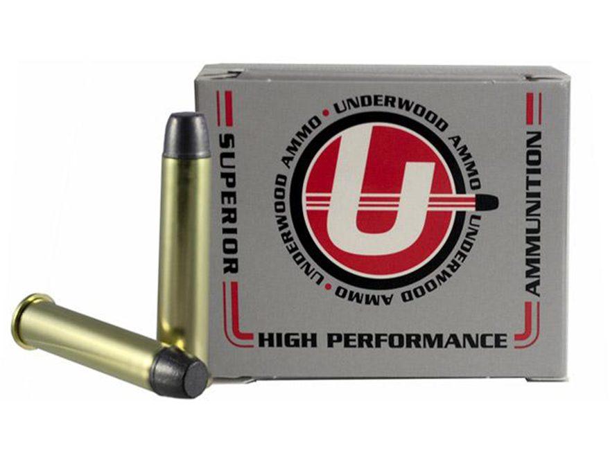 Underwood Ammunition 45-70 Government +P 430 Grain Hard Cast Lead Long Flat Nose Gas Ch...