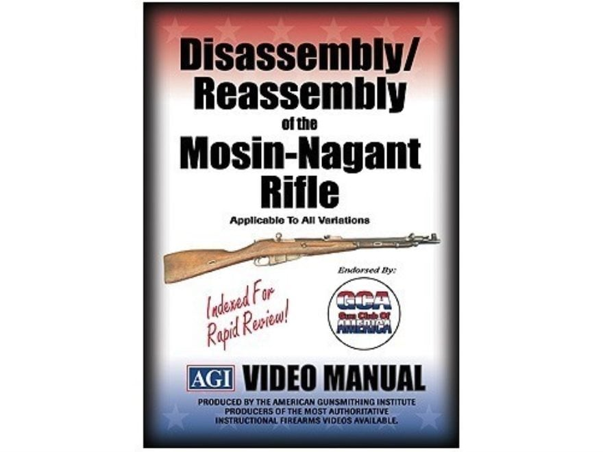 "American Gunsmithing Institute (AGI) Disassembly and Reassembly Course Video ""Mosin-Nag..."
