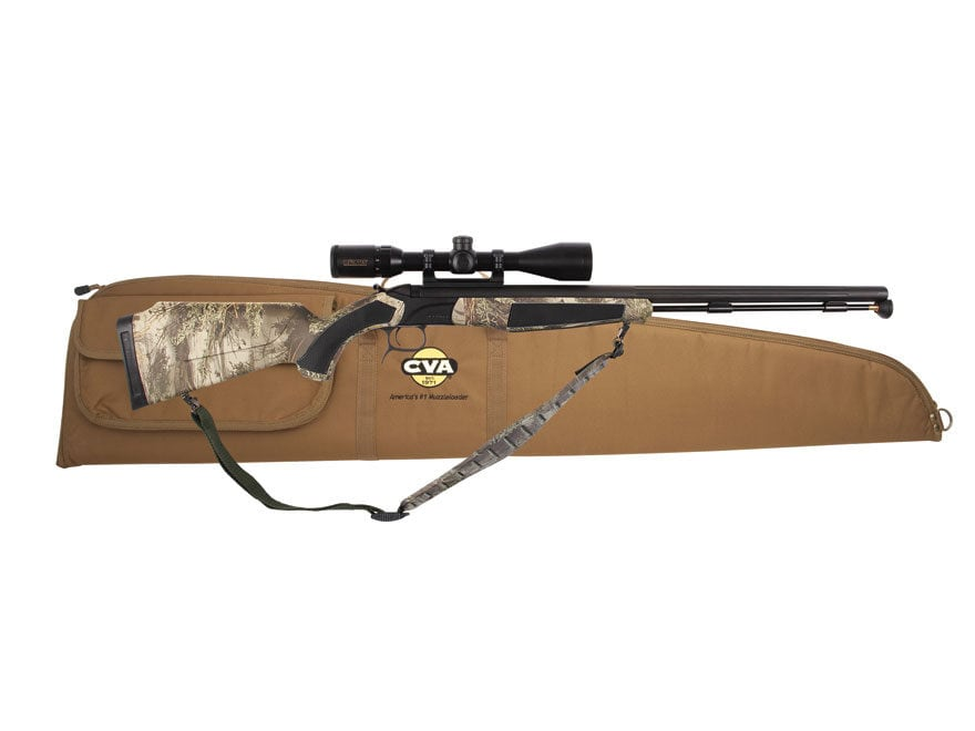 CVA Accura MR Muzzleloading Rifle with KonusPro 3-9 x 40mm Scope and Case