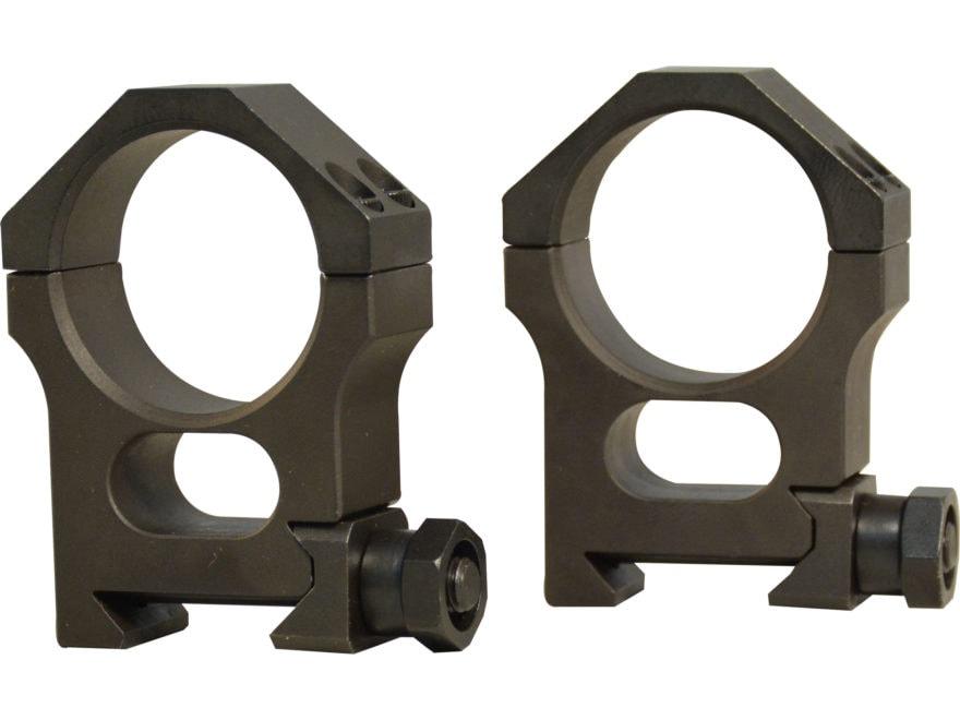 Valdada IOR 30mm Tactical Heavy Duty Picatinny-Style Rings Steel Matte High