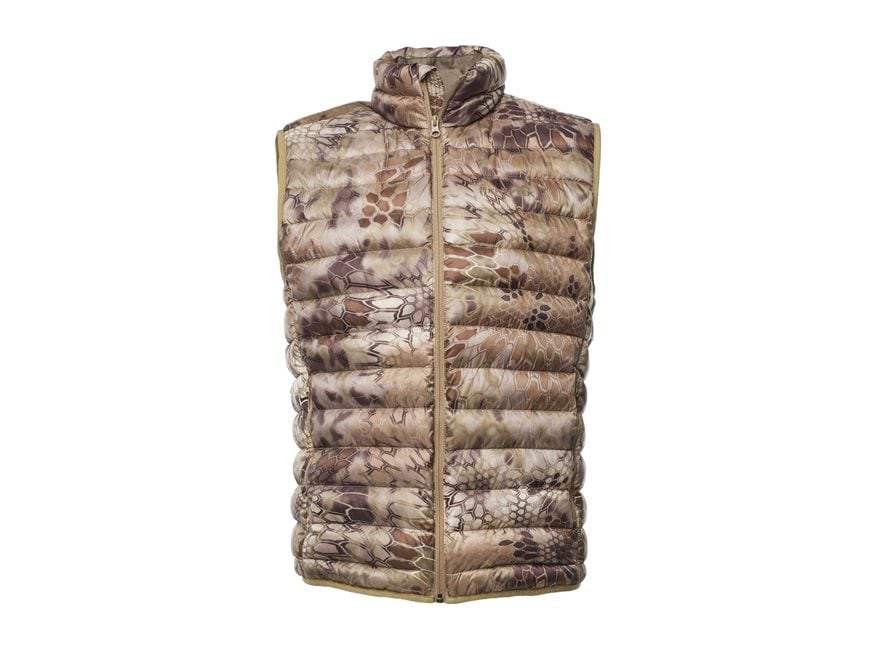 Kryptek Men's Cirius Down Insulated Vest Polyester
