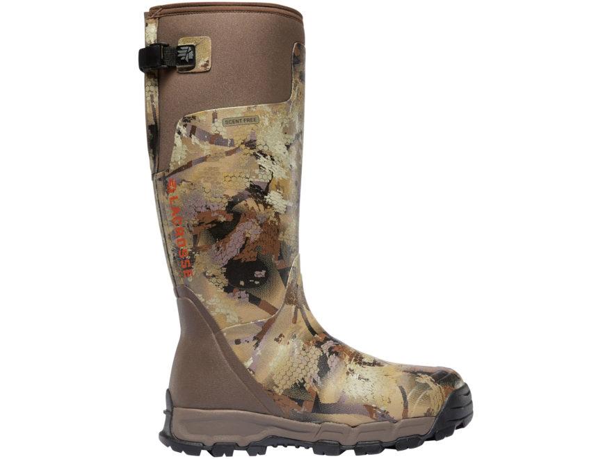 "LaCrosse Alphaburly Pro 18"" Waterproof 1600 Gram Insulated Hunting Boots Rubber Clad Ne..."