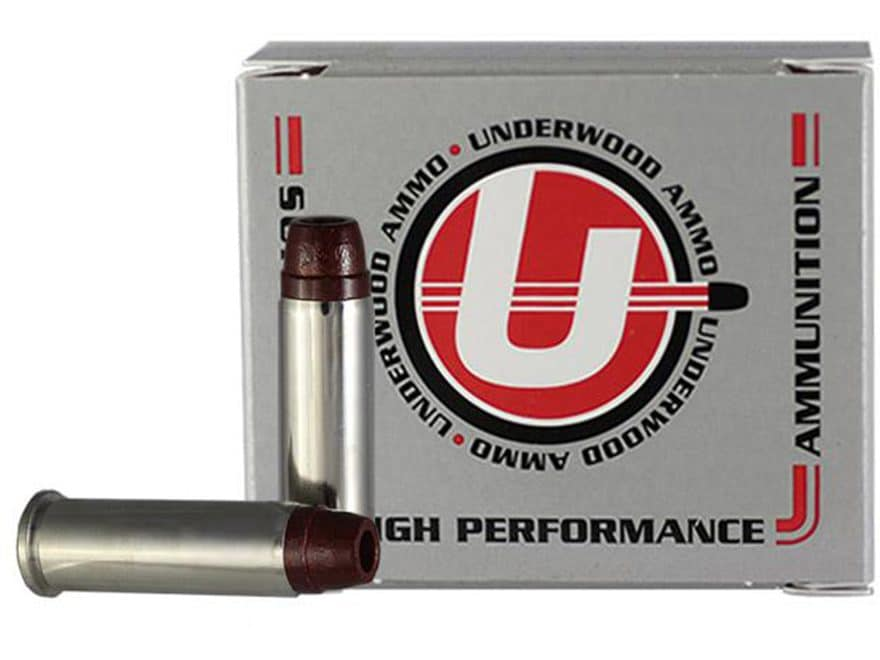 Underwood Ammunition 38 Special +P 158 Grain Lead Semi-Wadcutter Hollow Point Gas Check...