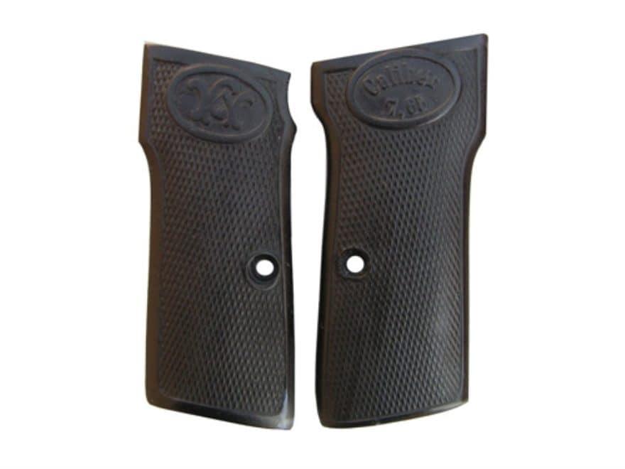 Vintage Gun Grips Walther #3-4 Transition 32 ACP Polymer Black