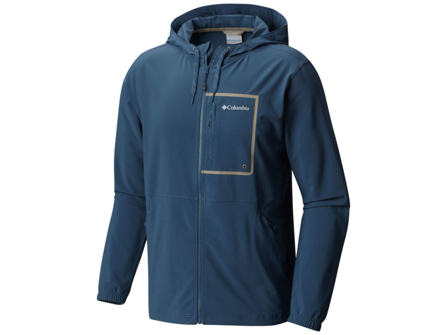 f1e29bc78 Columbia Men's Outdoor Elements Full-Zip Hoodie Polyester/Elastane.  Alternate Image; Alternate Image