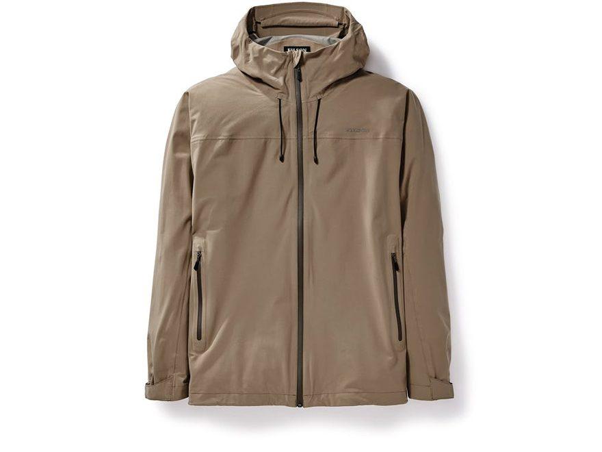 Filson Men's Swiftwater Waterproof Packable Rainshell Jacket Nylon