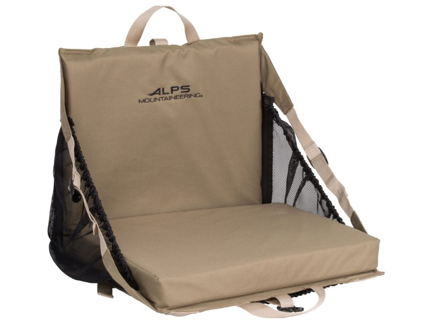 ALPS Mountaineering Explorer XT Deluxe Folding Seat Polyester Khaki