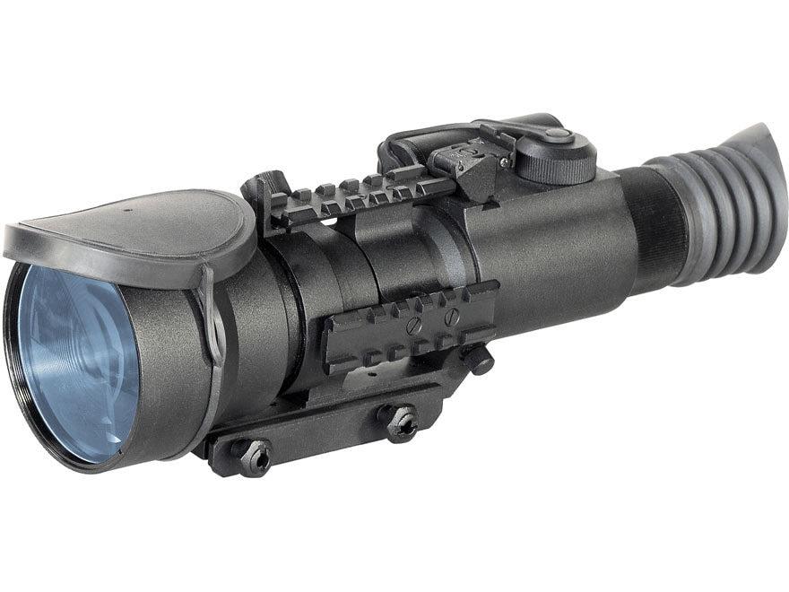 Armasight Nemesis Gen 2+ SD Night Vision Rifle Scope 4x Weaver-Style Mount Matte
