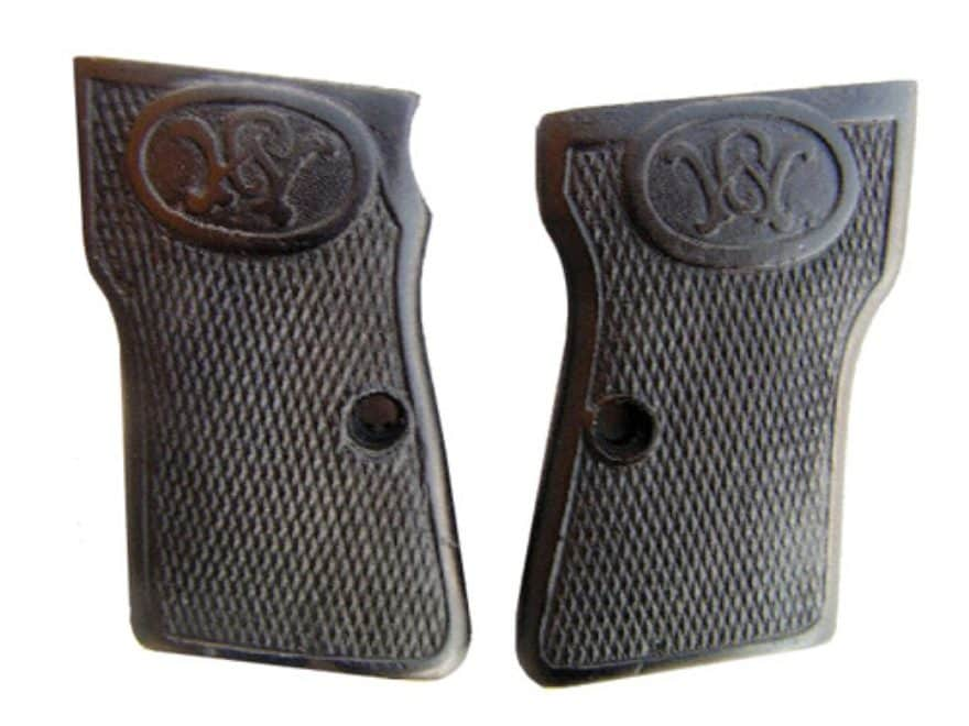 Vintage Gun Grips Walther #3 32 ACP Polymer Black