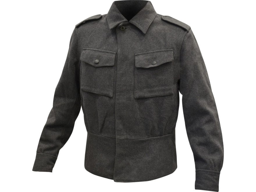 Military Surplus Finnish M65 Service Jacket Gray
