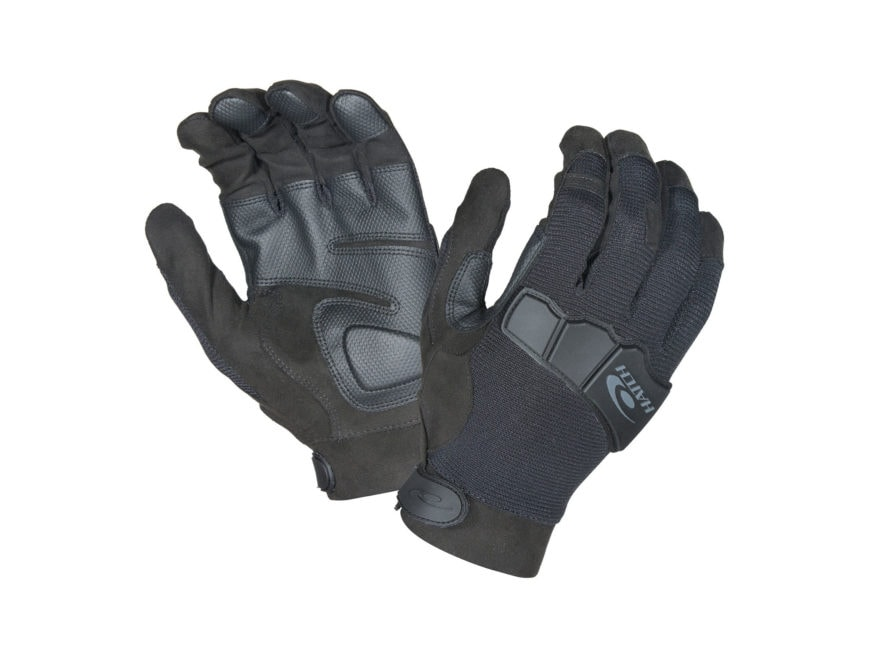 Hatch Task Heavy Knuckle Gloves Synthetic Black