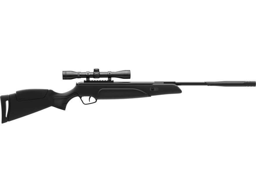 Stoeger A30 S2 Suppressor Air Rifle Black Synthetic Stock Black Barrel with 4x 32mm Scope