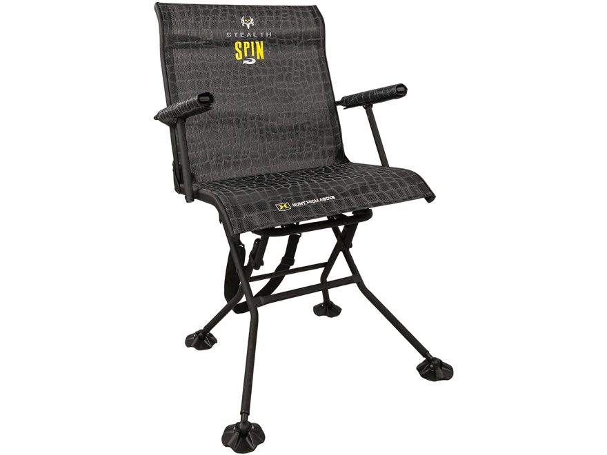 Hawk Stealth Spin Blind Chair Steel Gray