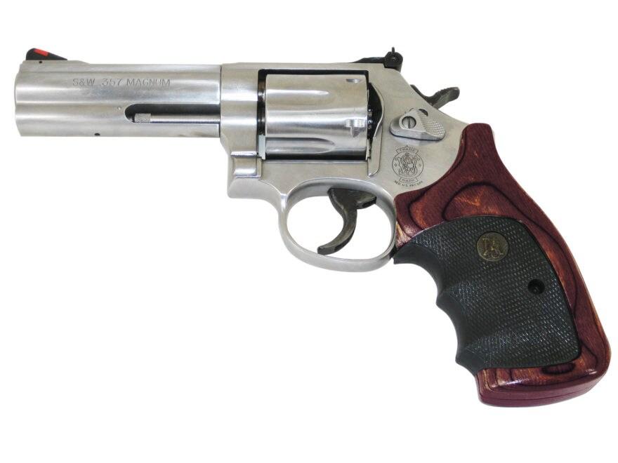 Pachmayr American Legend Grip S&W N-Frame Round Butt - MPN: 00466