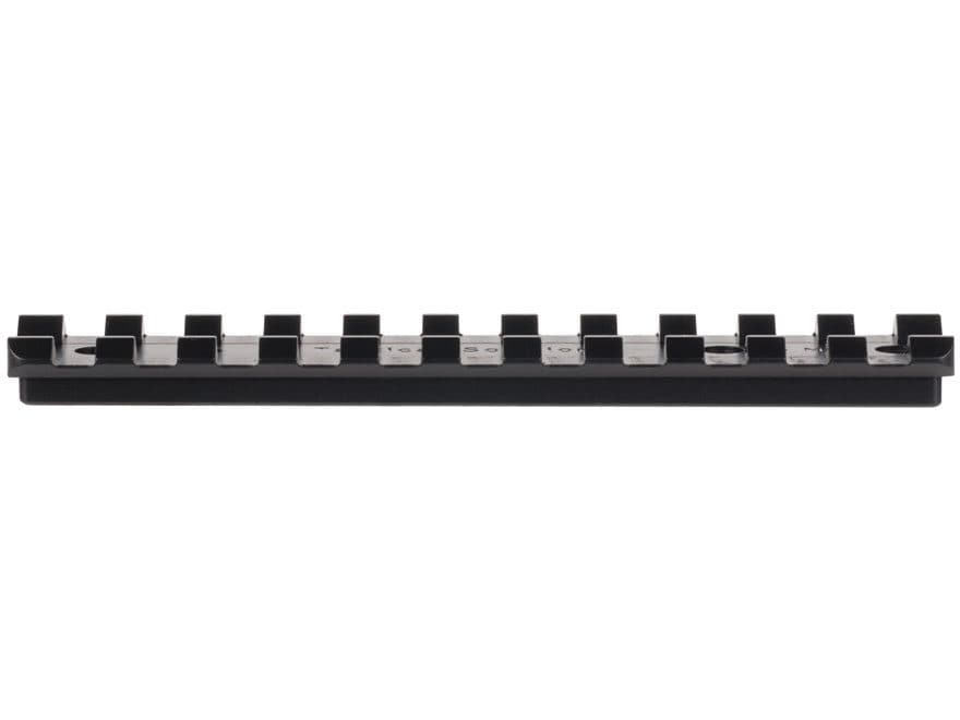 Tactical Solutions 1-Piece Picatinny-Style 15 MOA Elevated Scope Base Ruger 10/22 Black