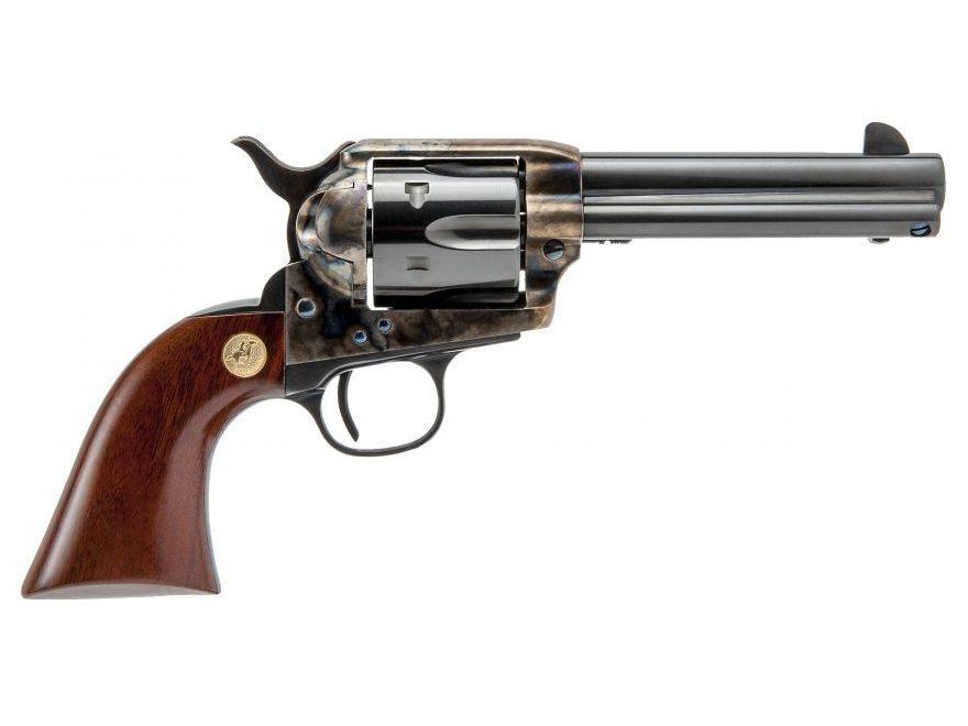 Cimarron P-Model Revolver 6-Round Color Case Hardened, Walnut
