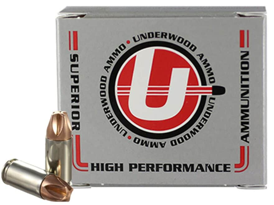 Underwood Xtreme Defender Ammunition 9mm Luger 90 Grain Lehigh Xtreme Defense Lead-Free...