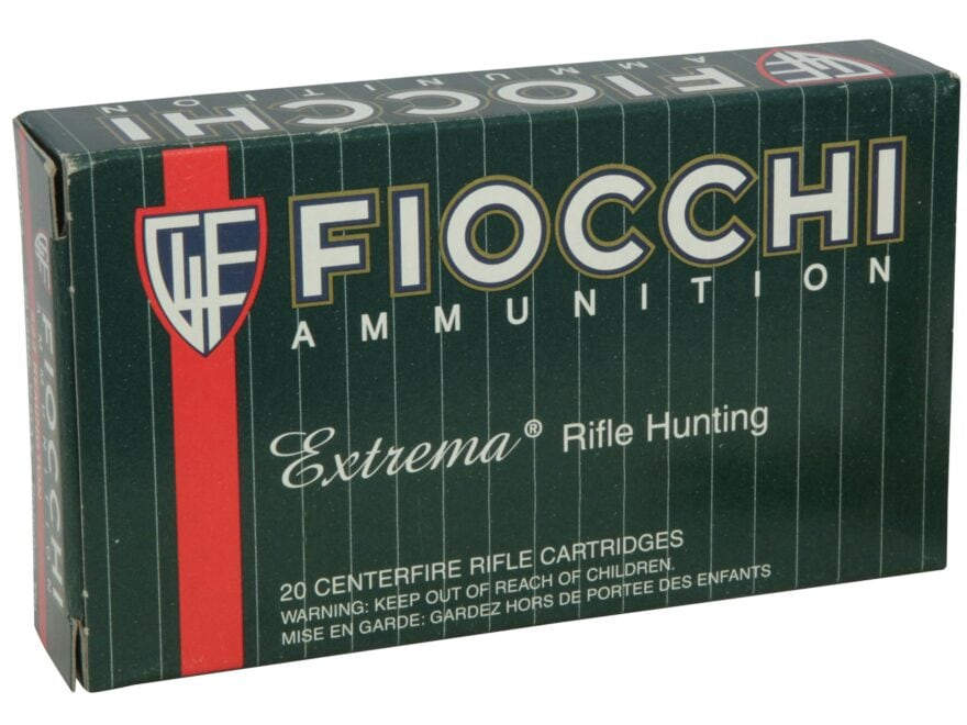 Fiocchi Extrema Ammunition 30-06 Springfield 165 Grain Swift Scirocco II Box of 20