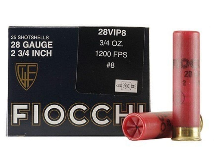 "Fiocchi Exacta Target Ammunition 28 Gauge 2-3/4"" 3/4 oz"