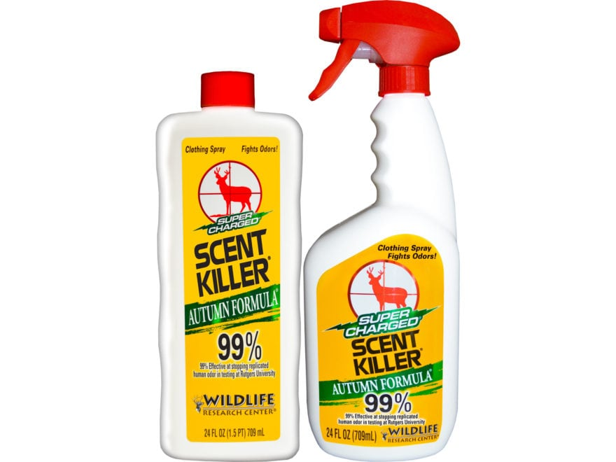 Wildlife Research Center Super Charged Scent Killer Autumn Formula 24/24 Scent Eliminat...
