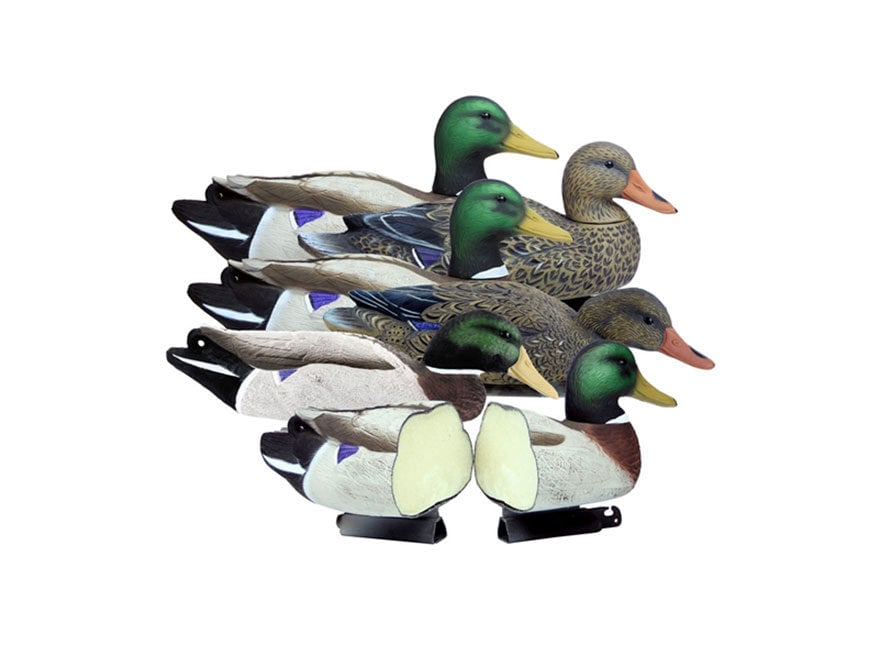 Higdon Battleship Foam Filled Mallard Duck Decoy Polymer Pack of 6