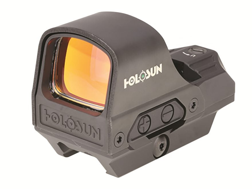 Holosun HE510C-GR Elite Reflex Sight 1x Selectable Green Reticle Weaver-Style Quick-Rel...