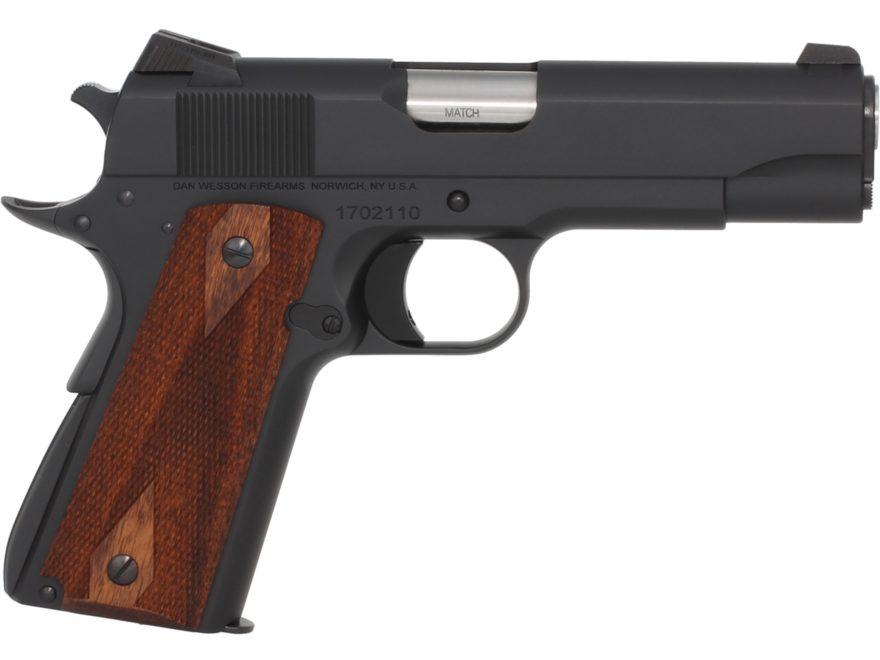 """CZ Dan Wesson 1911 A2 Commander Pistol 45 ACP 4.25"""" Barrel 7-Round Matte Wood"""