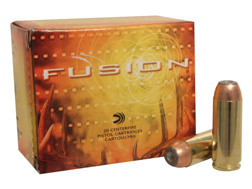 Federal Fusion Ammunition 50 Action Express 300 Grain Jacketed Hollow Point Box of 20