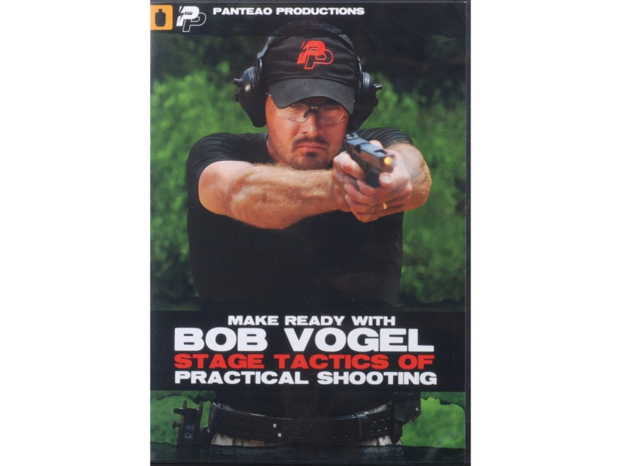 "Panteao ""Make Ready with Bob Vogel: Stage Tactics of Practical Shooting"" DVD"